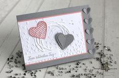 Stampin' Up! Demonstratorin Stephanie Fuhrmann in Hameln Wedding Anniversary Cards, Wedding Cards, Stampin Up, Scrapbook Cards, Scrapbooking, Screen Cards, Valentine Love Cards, Karten Diy, Love Stamps