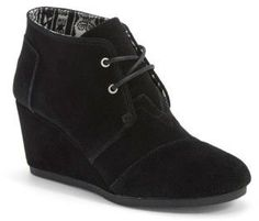 A just-right wedge gives you a lift in a modern, versatile chukka boot laced with utilitarian undertones #booties #ad