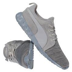 Tênis Puma Carson Runner Knit EEA - Cinza