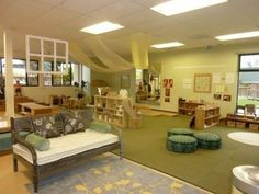 Reggio Emilia inspired classroom design. This is not a Bright Horizons photo, but pinned as an idea worth sharing.