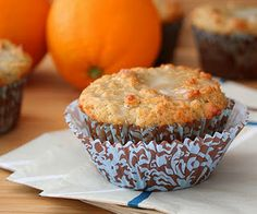 Garam Masala Muffins with Orange Glaze (Low Carb and Gluten Free)