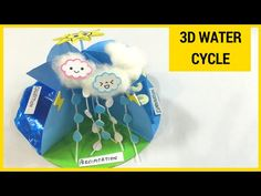 How To Make A 3D Water Cycle Model - YouTube