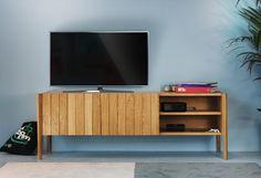 Designer, Flat Screen, Home, Warsaw, Polish, Dresser, Set Of Drawers, Oak Tree, Interior