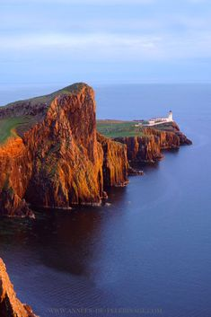 The Neist point light house Isle of Skye: