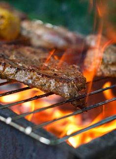 Recipe for Juicy Grilled New York Strip Steak - This recipe gives you tender, juicy meat which has a great Italian flavor.