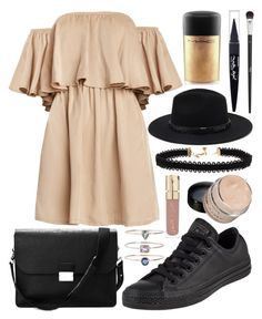"""Untitled #617"" by daimy-style ❤ liked on Polyvore featuring Converse, 19Fifth, Aspinal of London, Forever 21, Vanessa Mooney, MAC Cosmetics, Christian Dior, Maybelline and Smith & Cult"