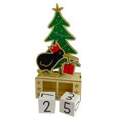 Sleeps Until Christmas, Days Until Christmas, Christmas Gifts, Christmas Decorations, Christmas Ornaments, Holiday Decor, Kiwi, Advent Calendar, Track