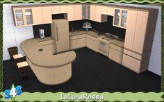 Low Budget Kitchen at LaLunaRossa • Sims 4 Updates