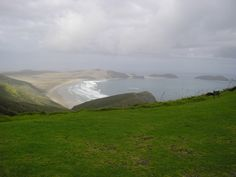 Spirits Bay is an isolated bay at the end of the Aupouri Peninsula, near the northern tip of New Zealand's North Island.