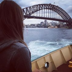 Arriving back at Sydney Harbour after a fun day out at Manly Beach  I can't believe I've only got one more day left in Sydney before it's time for me to fly home again  I wish I could just stay out here for good such a fun place!  #Sydney #Australia #blogger #fashionblogger #sydneyharbour #sydneyharbourbridge #travel #travelgram #travelling #instatravel #wanderlust #fitspo #ootd #outfit #wiw #fwis #ManlyBeach  #vacation #holiday #beach #brunette by julianientiedt http://ift.tt/1NRMbNv