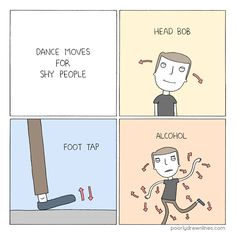 Dance Moves for Shy People