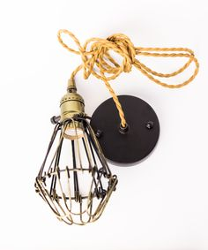 Create an industrial ambience to any space with this quality vintage industrial style pendant cage set from London-based creative artists William & Ceiling Rose Pendant, Cage Pendant Light, Pendant Set, Pendant Lighting, Industrial Lighting, Vintage Lighting, Vintage Industrial, Industrial Style, Vintage Decor