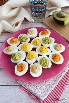 #ptitchef #recette #cuisine #paques #recipe #cooking #easter #menu #oeuf #eggs #oeufmimosa #apéritif