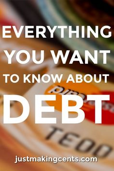 Do you want to master your debt?  Here's a primer on debt that I hope you'll find helpful!