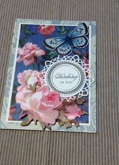Anna Griffin Thinking of You Card with by MyPrettyPaperGifts, $6.00