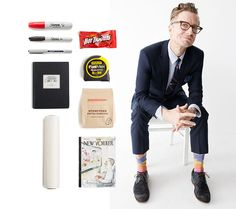Real Ludlow Guys: Charles Renfro  he's the architect behind the High Line, an avid reader of the   New Yorker and the owner of some seriously colorful socks. check out   our favorite answers from our current favorite Ludlow guy.