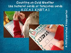 Cold Weather Differentiated And Aligned Math Stations.