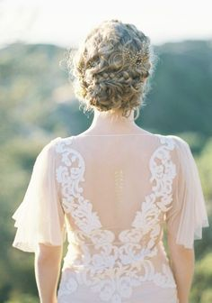 Wedding hairstyle idea; Featured Photographer: Jen Huang Photography