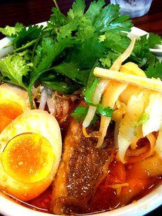 レシピとお料理がひらめくSnapDish - 30件のもぐもぐ - 激辛刀削麺 全部乗せ♡ by tayuko