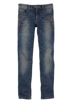 Produkttyp , Jeans, |Qualitätshinweise , Hautfreundlich Schadstoffgeprüft, |Materialzusammensetzung , Obermaterial: 98% Baumwolle, 2% Elasthan, |Material , Jeans, |Farbe , blue denim, |Passform , Schmale Form, |Beinform , schmal, |Beinlänge , lang, |Leibhöhe , normal, |Bund + Verschluss , verstellbarer Innen-Gummizug bis Gr. 146, |Taschenanzahl , 5, |Vorder- und Seitentaschen , Eingriffstasche ...