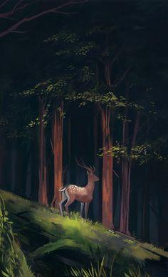 Forest Scene - 1 by MobilePants.deviantart.com on @DeviantArt