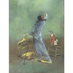 everett shinn clown -