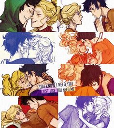 You know I need you - the-heroes-of-olympus Fan Art