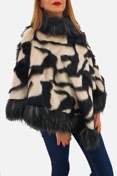 Elegant, Fur Coat, Jackets, Roman, Fashion, Tricot, Embroidery, Brown Paper, Classic