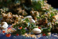Olives for Dinner | Sriracha-Cashew Kale Chips by Jeff and Erin's pics, via Flickr -- Vegan, Grain Free, Gluten-Free, Dairy Free, Snack, Recipe