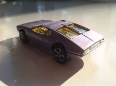 Detomaso Mangusta from Corgi (small scale car from the early 70s