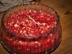 """Day three for Thanksgiving dishes is """"Cranberry Day"""". What would a holiday meal be without cranberries? Again, I have three of my favorite recipes for you. The salad pictured above is… Thanksgiving Recipes, Fall Recipes, Holiday Recipes, Great Recipes, Holiday Foods, Christmas Recipes, Christmas Ideas, Merry Christmas, Christmas Foods"""