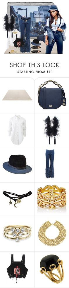 """""""Модница"""" by natalego ❤ liked on Polyvore featuring ESPRIT, Polaroid, Karl Lagerfeld, rag & bone, Elizabeth Mason Couture, The Season Hats, Michael Kors, Wet Seal, Sara Weinstock and FOSSIL"""