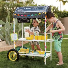 Shop Street Vendor Cart.  Whether you're in the market for a flower cart or a kid-sized lemonade stand, our Street Vendor Cart has something for you.