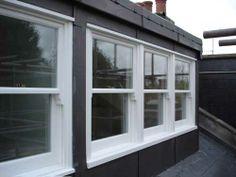 Sash windows on dormer window loft conversion