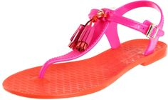 Juicy Couture jelly sandals, how fun!
