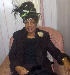 Mother Melessie Clark Sunday Clothes, Headgear, Captain Hat, Stylish, Lady, Women, Fashion, Moda, Fashion Styles