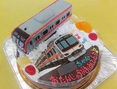 東京メトロ副都心線、東急東横線電車ケーキ