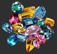 Topaz is a gemstone available in a rich array of rainbow of colors - yellow, pink, purple, orange, and the many popular blue tones. http://fashionaccessoryshop.com/blog_1.html #fashion