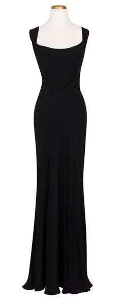 All eyes will be on you when you don the black Penelope Dress by Ghost!