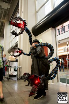 Doctor Octopus cosplay at Salt Lake Comic Con 2015