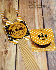 It's a Celebration, Here's to Cheers, Cheerful Tags Framelits Dies, Stampin' Up!