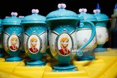 Memorabilia on display at Disney On Ice presents Frozen at Barclays Center on November 11, 2014 in New York City.