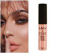 Kylie Jenner Dupes, Kylie Lip Kit Dupe, Kylie Lipstick, Nyx Lip, Lipstick Swatches, Christmas Manicure, Lip Cream, Beauty Make Up, Lip Colors