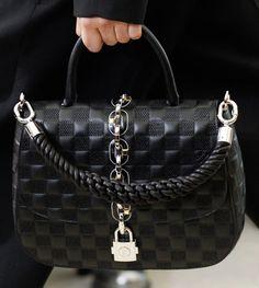Louis vuitton 2017 lock bags black