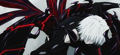 He's fast. And what kind of Kagune is that? Incomplete though it may be, this ghoul is… A Kakuja?!