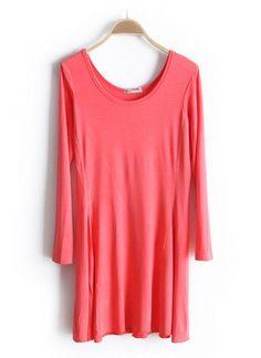 New Korean Long Sleeve Dress on BuyTrends.com $18.48
