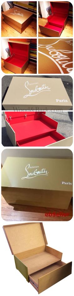 louboutin shoe storage