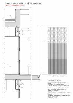 Nursery in the Jardines De Malaga / Batlle i Roig Architectes - DETALLE DE…