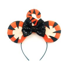 A personal favorite from my Etsy shop https://www.etsy.com/listing/269490955/tigger-ears-winnie-the-pooh-ears-tigger