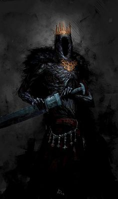 Fantasy Art Watch — Giant Lord by Artem Demura Dark Fantasy Art, Fantasy Creatures, Mythical Creatures, Art Dark Souls, Illustration Fantasy, Art Visionnaire, Arte Obscura, Images Gif, Art Watch